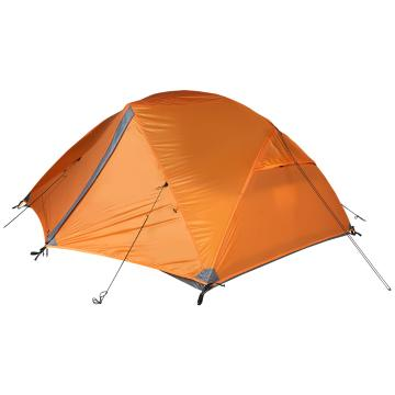 Torpedo7 Mamaku 3-Person Adventure Tent - Deep Burnt Orange/Dk Grey