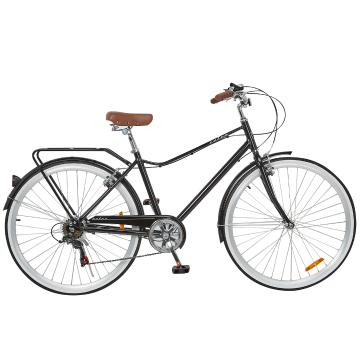 "Torpedo7 Men's Retro Aluminium 18"" Bike - Black"