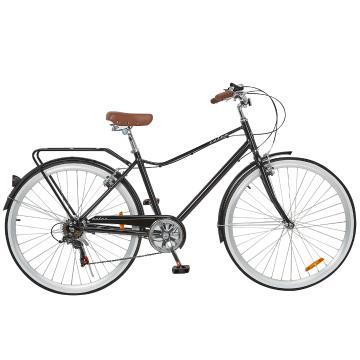"Torpedo7 Men's Retro Aluminium 18"" Bike - Black"