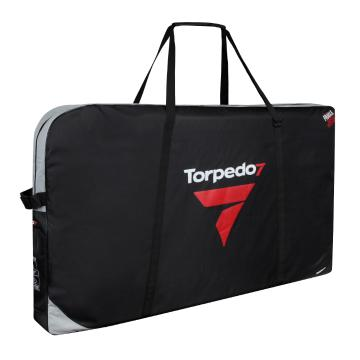 Torpedo7 Transporter Padded Bike Bag with Wheels - Black