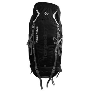 Torpedo7 Pinnacle 55 + 10L V2 Pack - Black/Charcoal