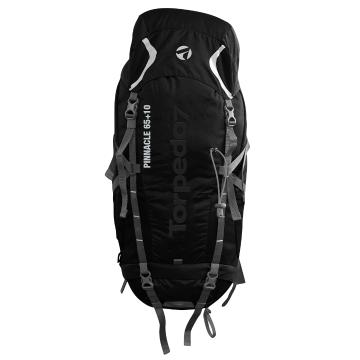 Torpedo7 Pinnacle 65 + 10L V2 Pack - Black/Charcoal
