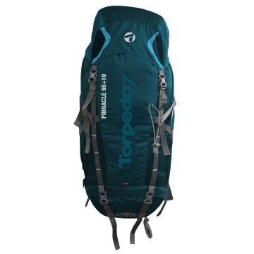 Torpedo7 Pinnacle 65 + 10L V2 Pack - Teal/Charcoal