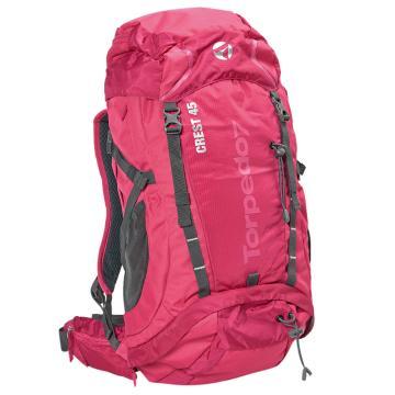 Torpedo7 Crest 45L Pack - Pink/Charcoal