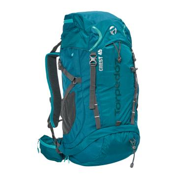 Torpedo7 Crest 45L Pack - Teal/Charcoal