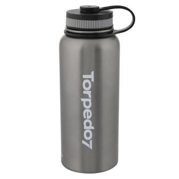 Torpedo7 Titan Drink Bottle - 1000ml - Charcoal