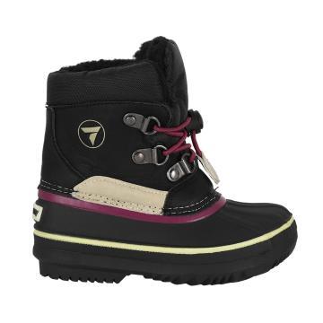 Torpedo7 Junior Snow Cubs II Winter Boots - Black/Pink