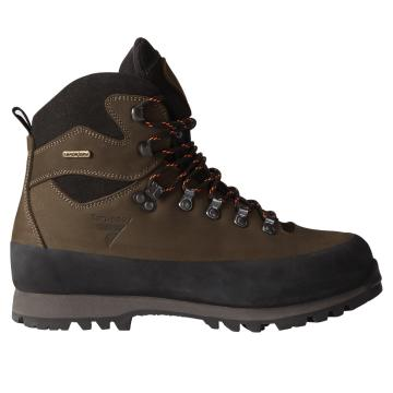 Torpedo7 Hollyford Vibram Ortholite Hiking Boots - Plaid Brown