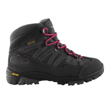 Torpedo7 Girl's Kepler Vibram Hiking Boots - Dark Grey/Magenta