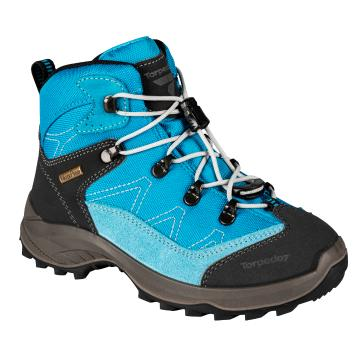 Torpedo7 Kepler II Junior Hiking Boot - Blue/Grey