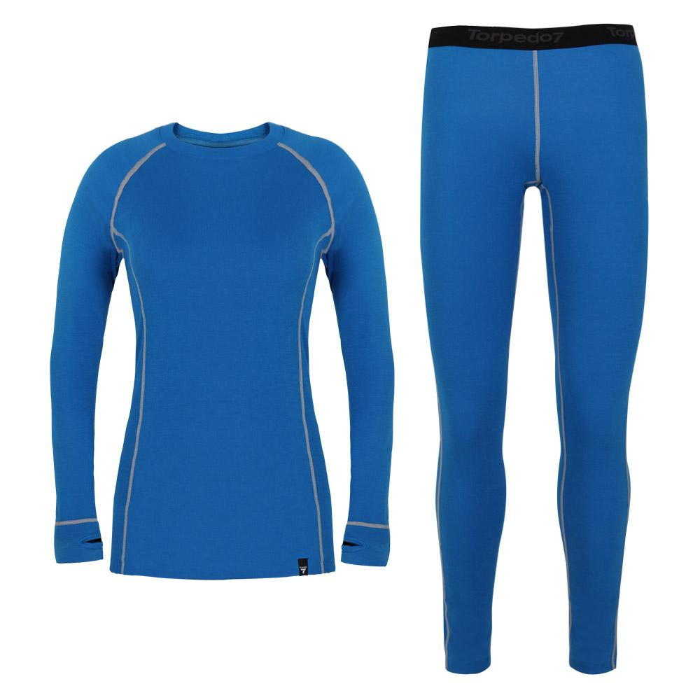 Women's Silver Nano Thermal Baselayer Combo Set
