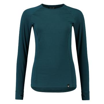 Torpedo7 Women's Nano Core Thermal Long Sleeve Top - Teal