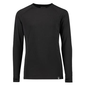 Torpedo7 Youth Nano Core Thermal Long Sleeve Top - Black