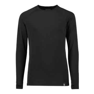 Torpedo7 Kid's Nano Core Thermal Long Sleeve Top - Black