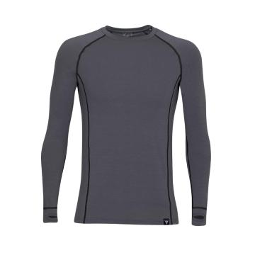 Torpedo7 Men's Nano Core Thermal Long Sleeve Top - Grey