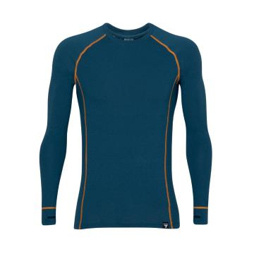 Torpedo7 Men's Nano Core Thermal Long Sleeve Top - Majolica Blue