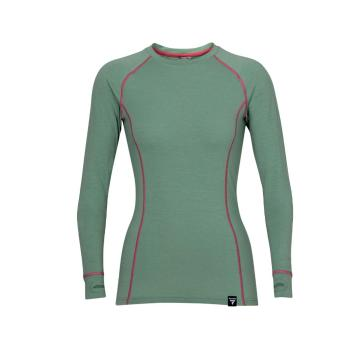 Torpedo7 Women's Nano Core Thermal Long Sleeve Top - Moss