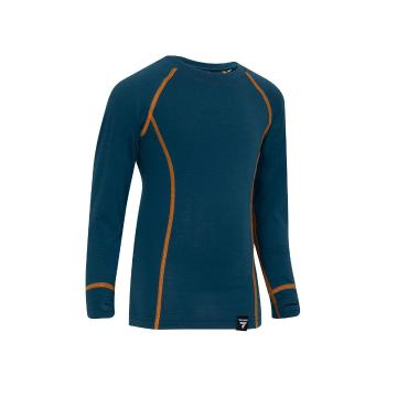 Torpedo7 Youth Nano Core Thermal Long Sleeve Top - Majolica Blue