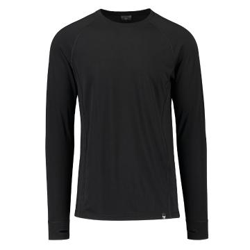Torpedo7 Men's Nano Core Thermal Long Sleeve Top - Black/Black