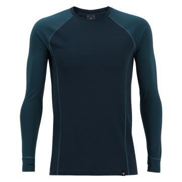 Torpedo7 Men's Nano Core Thermal Long Sleeve Top - Airforce/Ocean