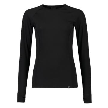 Torpedo7 Women's Nano Core Thermal Long Sleeve Top - Black/Black