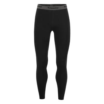 Torpedo7 Men's Nano Core Thermal Tights - Black/Black