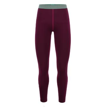 Torpedo7 Women's Nano Core Thermal Tights - Burgundy/Rose