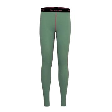 Torpedo7 Women's Nano Core Thermal Tights - Moss