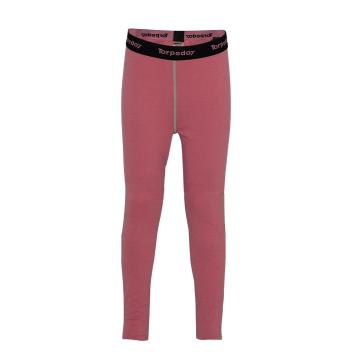 Torpedo7 Youth Nano Core Thermal Tights - Rose Pink