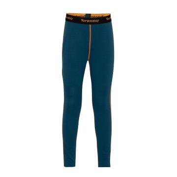 Torpedo7 Kids Nano Core Thermal Tights - Majolica Blue