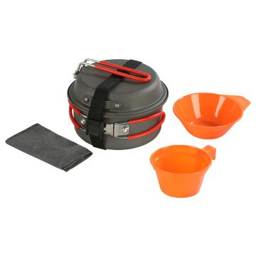 Torpedo7 Expedition Cook Set - Aluminium
