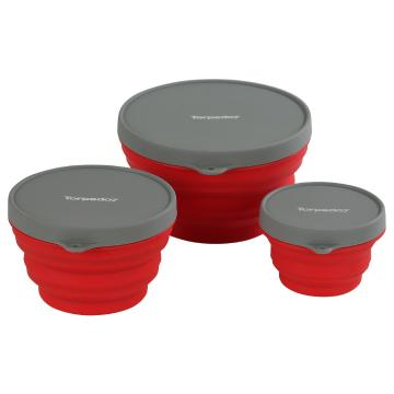 Torpedo7 Silicone Nesting Bowls