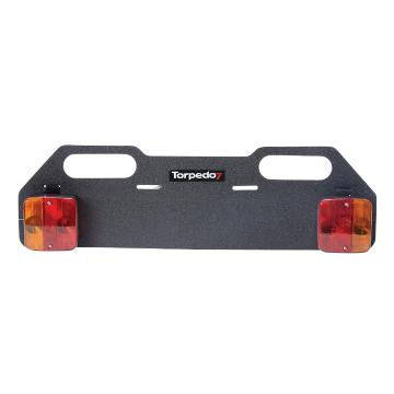 Torpedo7 Bike Rack Number Plate Light Board