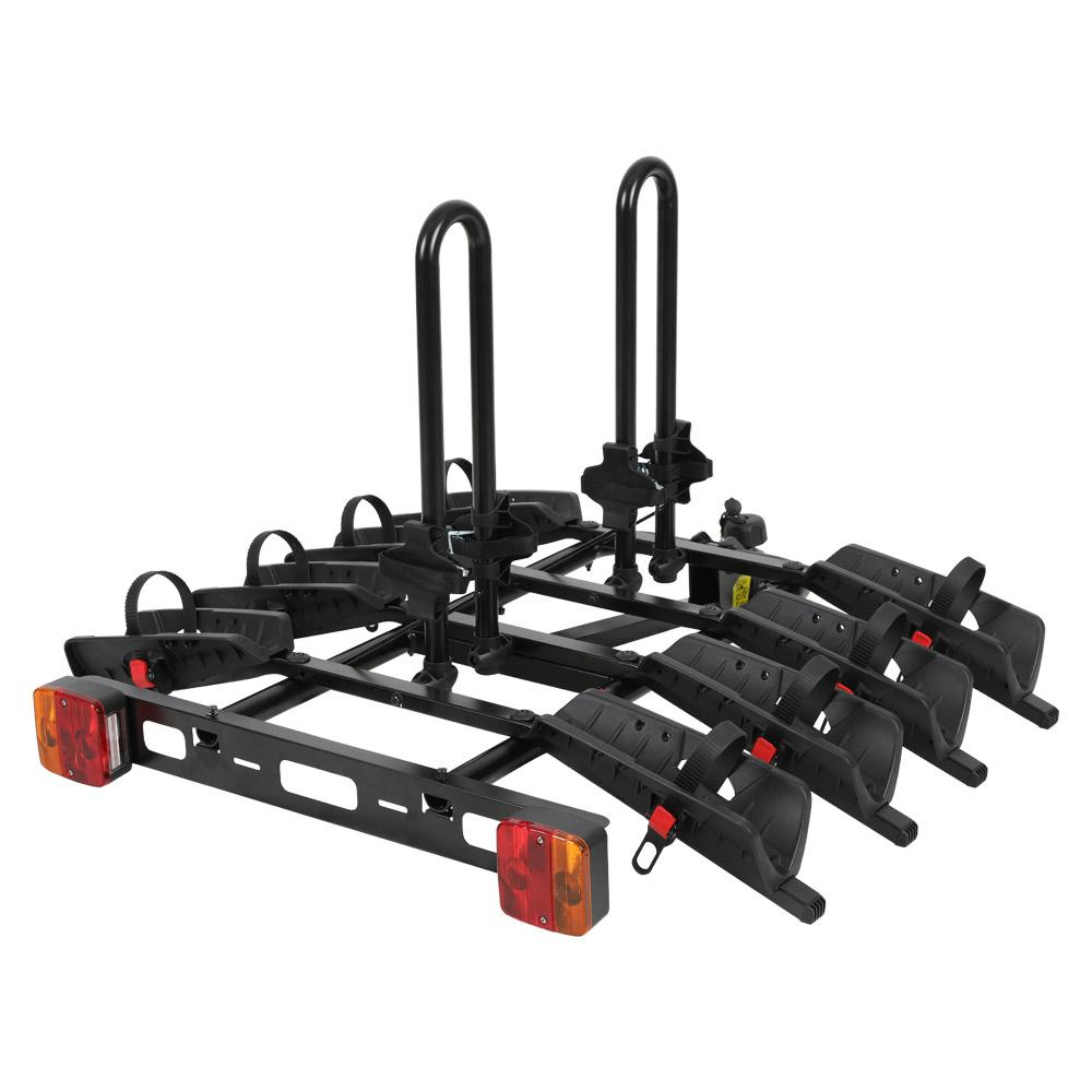 Quattro Towball Mount 4 Bike Channel Rack