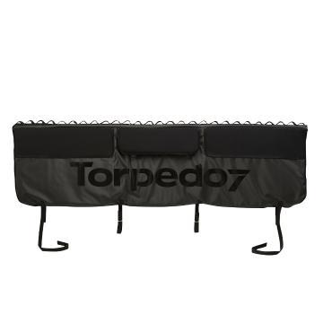 Torpedo7 Ute Tailgate Pad with Bungy Kit - Black/Black
