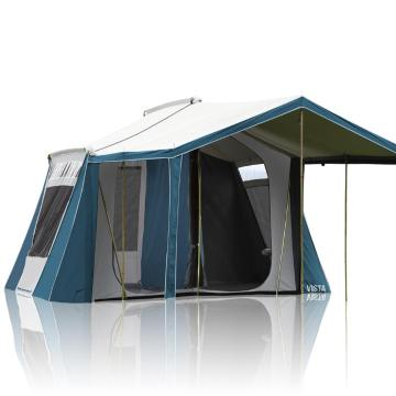 Torpedo7 Vista Single Room Canvas Tent - Ink/Grey