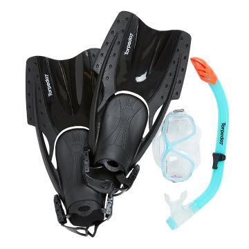 Torpedo7 Women's Snorkelling Set - Mint