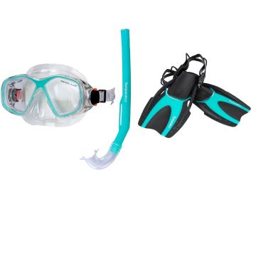 Torpedo7 2021 Youth Junior Snorkelling Set  - Mint