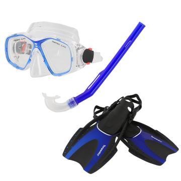 Torpedo7 Junior Snorkelling Set - Blue
