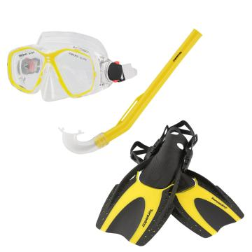 Torpedo7 Junior Snorkelling Set - Yellow