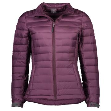 Torpedo7 Women's Belay V4 Down Jacket - Aubergine