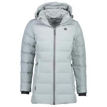 Torpedo7 Women's Mystic V2 Down Jacket - Light Grey