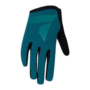 Torpedo7 Youth Enduro MTB Gloves - Teal/Black