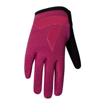 Torpedo7 Youth Enduro MTB Gloves - Magenta/Black