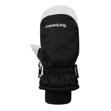 Torpedo7 Kid's Yeti Mitten - 3/8 Years - Black