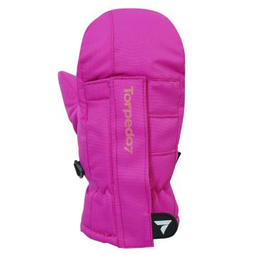 Torpedo7 Tots Frosty Mittens - 1/3 Years - Hot Pink