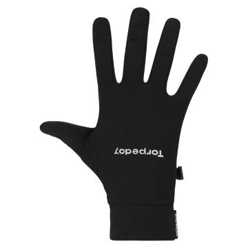 Torpedo7 Peak Micro Fleece Liner Gloves - Black