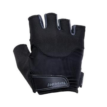 Torpedo7 Men's Sprint Cycle Glove - Black/Grey - Black/Grey