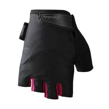 Torpedo7 Women's Pace Cycle Gloves - Black/Magenta
