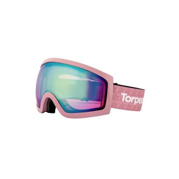 Torpedo7 Adults Carve Snow Goggles - Pink/Rose Gold